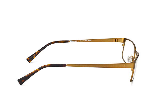Mister Spex Collection Chrispin Titanium 3006 BWN vista en perspectiva