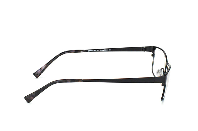 Mister Spex Collection Arley Titanium 3002 BLK vista en perspectiva
