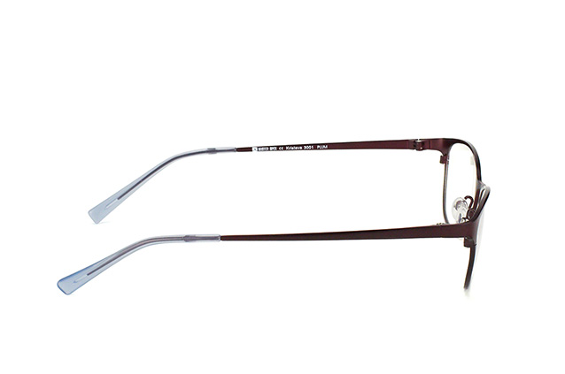 Mister Spex Collection Kristeva Titanium 3001 PLUM vista en perspectiva