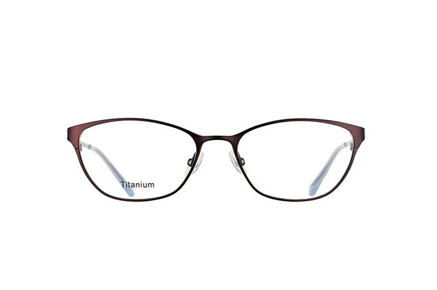 Mister Spex Collection Kristeva Titanium 3001 PLUM perspective view