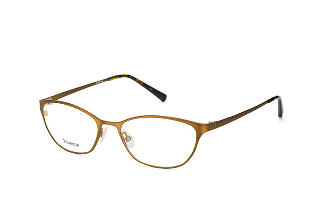 Mister Spex Collection Kristeva Titanium 3001 BWN vista en perspectiva