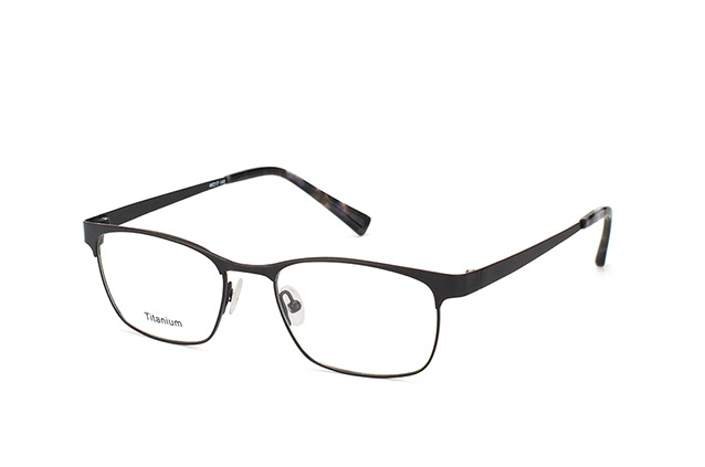 Mister Spex Collection Maxwell Titanium 3004 BLK vista en perspectiva