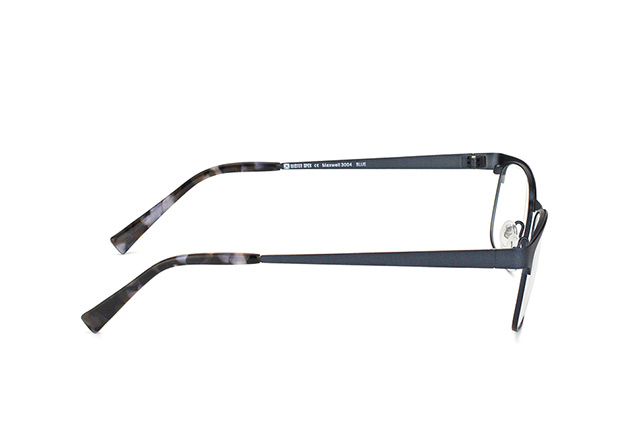 Mister Spex Collection Maxwell Titanium 3004 BLUE Perspektivenansicht