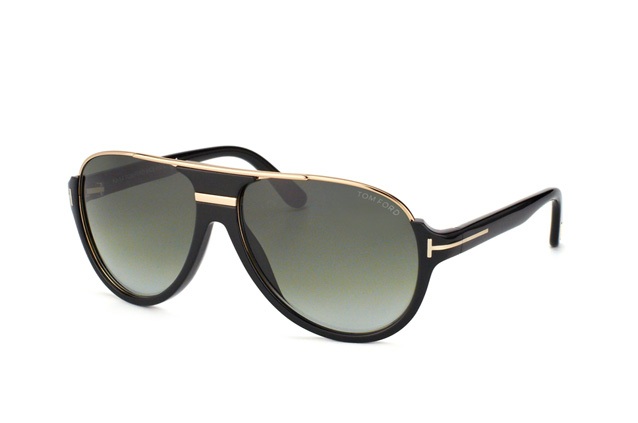 Tom Ford Dimitry FT 0334/S 01P vista en perspectiva