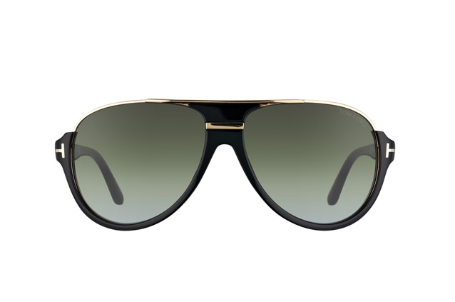 Tom Ford Dimitry FT 0334/S 01P vue en perpective