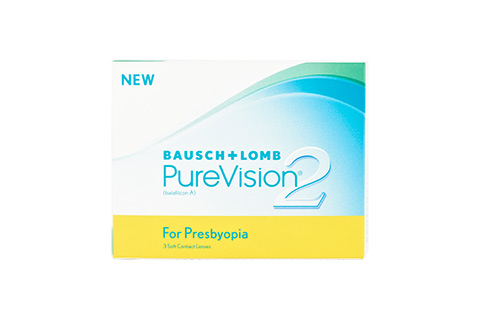 Purevision PureVision2 Presbyopia front view