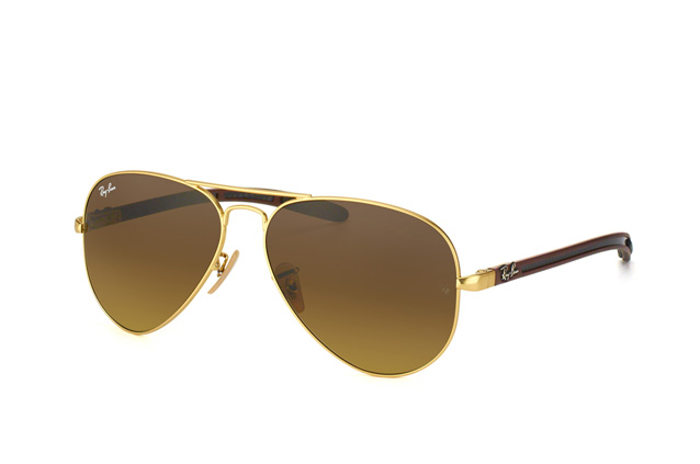 Ray-Ban Aviator Carbon RB 8307 112/85 Perspektivenansicht