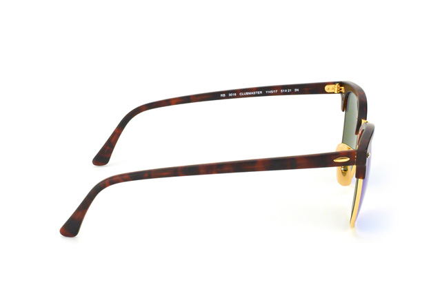 Ray-Ban Clubmaster RB 3016 114517large vista en perspectiva