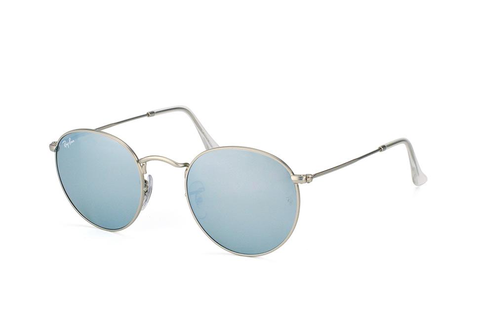 ray-ban -  Round Metal RB 3447 019/30, Runde Sonnenbrille, Unisex, in Sehstärke erhältlich