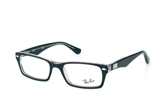 ray ban schwarz transparent