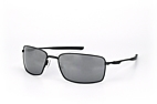 Oakley Square Wire OO 4075 01 Black / Polarised grey perspective view thumbnail