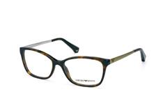 Emporio Armani EA 3026 5026, Square Brillen, Havana auf Rechnung bestellen
