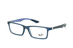ray-ban-rx-8901-5262-rectangle-brillen-dunkelblau
