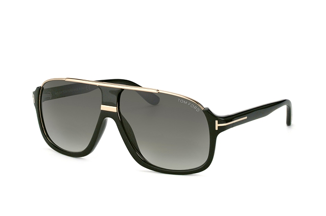 Tom Ford Eliott FT 0335 01P vue en perpective