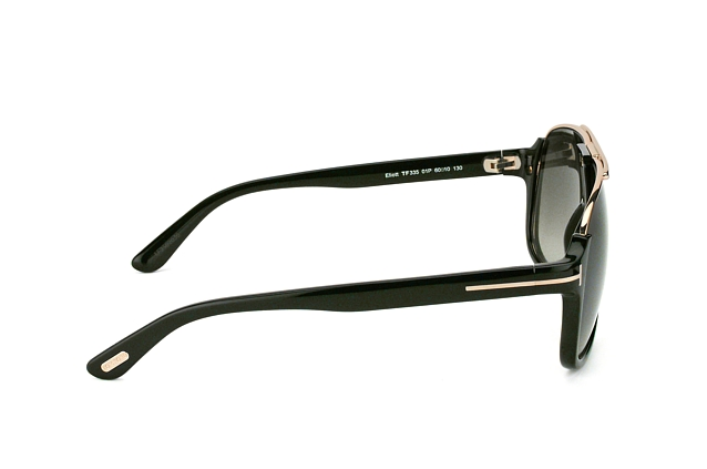 Tom Ford Eliott FT 0335 01P vista en perspectiva