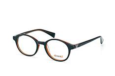 Crush / Titanflex 853007 10, Round Brillen, Schwarz