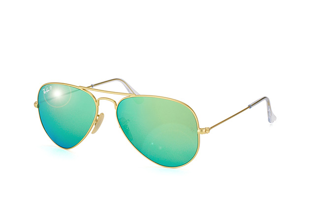 Ray-Ban Aviator RB 3025 112/P9 small Perspektivenansicht