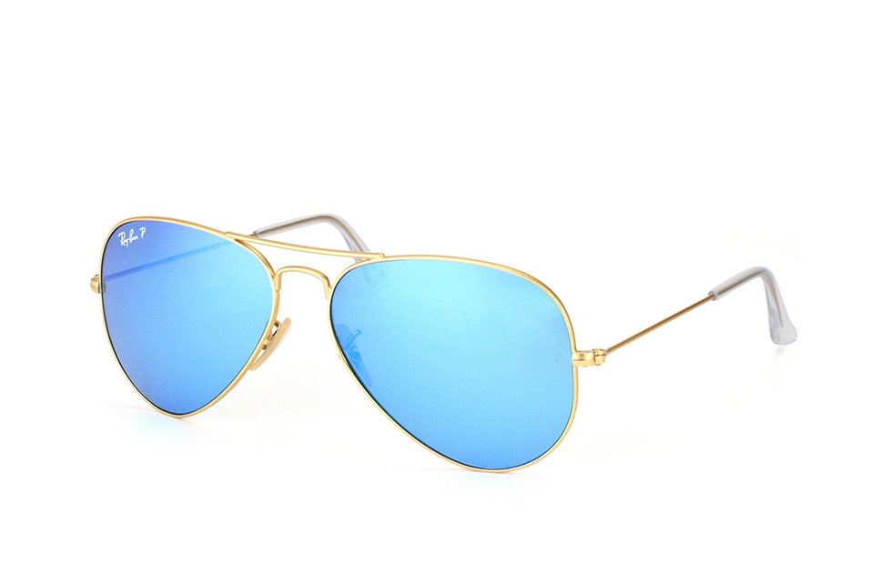 ray-ban -  Aviator large RB 3025 112/4L, Aviator Sonnenbrille, Unisex, polarisiert, in Sehstärke erhältlich