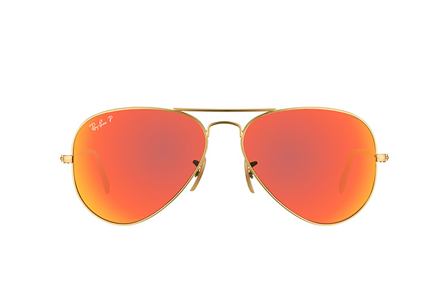 Ray-Ban Aviator large RB 3025 112/4D perspective view