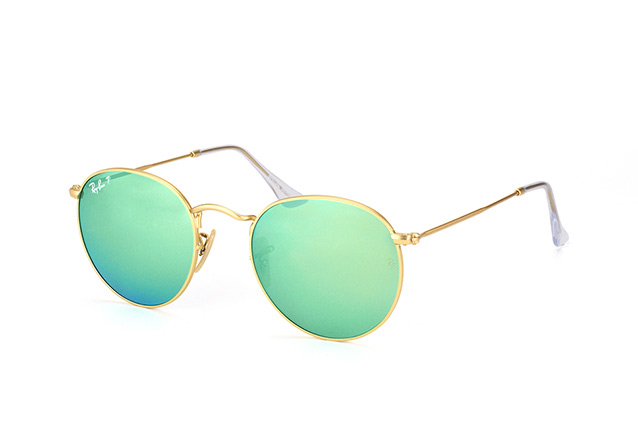 Ray-Ban Round Metal RB 3447 112/P9 vista en perspectiva