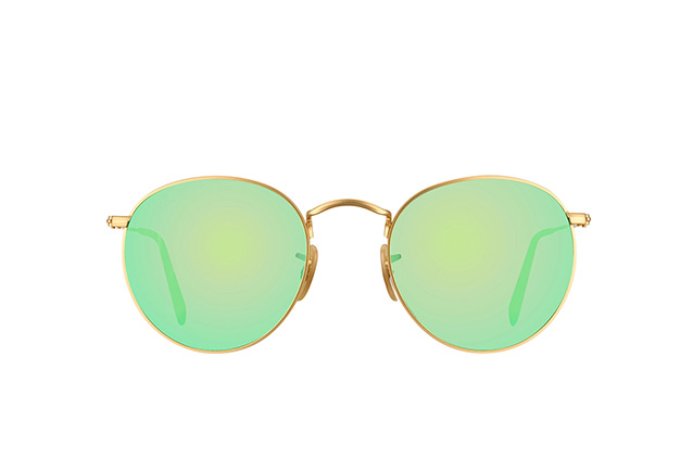 Ray-Ban Round Metal RB 3447 112/P9 perspective view