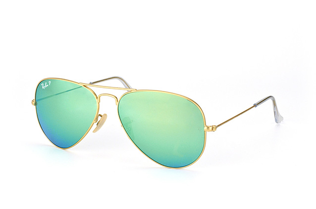Ray-Ban Aviator large RB 3025 112/P9 vista en perspectiva