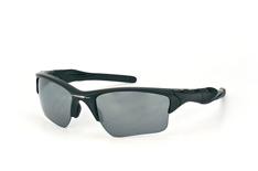 Oakley Half Jacket 2.0 XL OO 9154 46, Sporty Sonnenbrillen, Schwarz