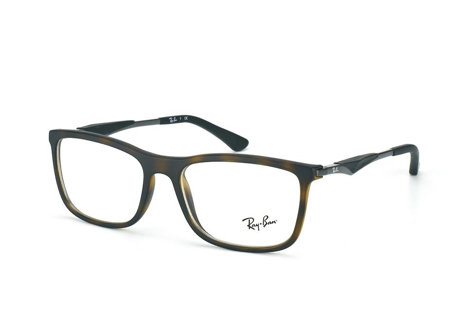 ray ban sehbrille matt schwarz