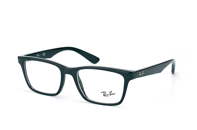 "Ray-Ban RX 7025 2000 ""Used Look"" vista en perspectiva"
