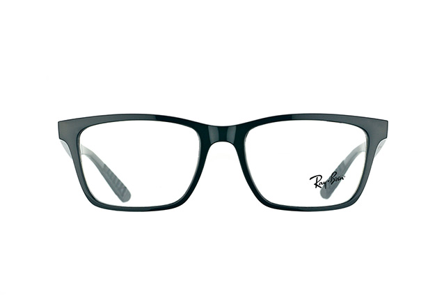 "Ray-Ban RX 7025 2000 ""Used Look"" vue en perpective"