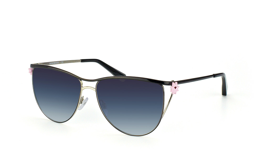 EA 2022 3070/8G, Butterfly Sonnenbrillen, Schwarz