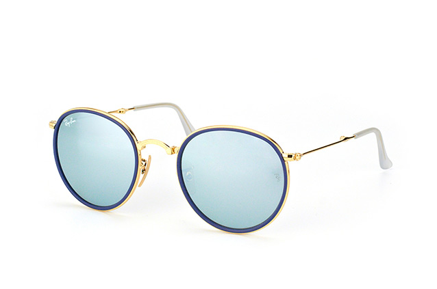 Ray-Ban ROUND RB 3517 001/30 vista en perspectiva