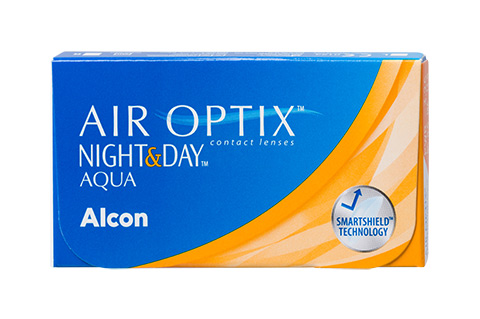 Air Optix Air Optix Night & Day Aqua vue de face