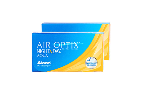 Image of Air Optix AIR OPTIX Night & Day Aqua 4.5