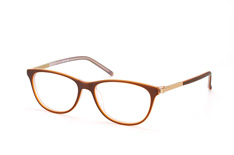 Mister Spex Collection Delany 001, Square Brillen, Braun