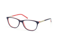 Mister Spex Collection Delany 002, Square Brillen, Dunkelblau