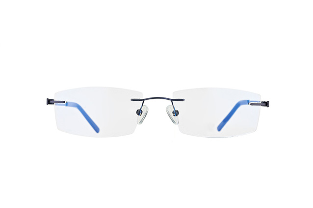 Mister Spex Collection Neville Titanium 002 vista en perspectiva