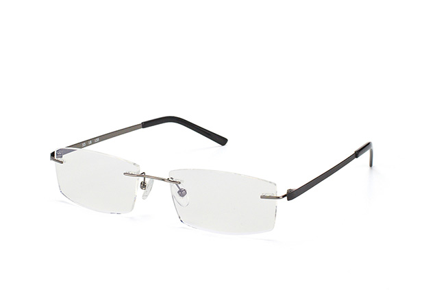 Mister Spex Collection Neville Titanium 001 Perspektivenansicht