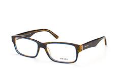 Prada PR 16Mv Zxh-1O1, Rectangle Brillen, Dunkelgrün