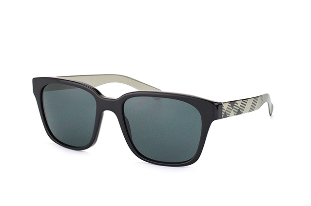 a72bd1e42795 ... Burberry Sunglasses; Burberry BE 4148 3406/87. null perspective view ...
