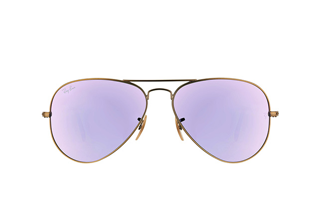 Ray-Ban Aviator large RB 3025 167/4K vista en perspectiva