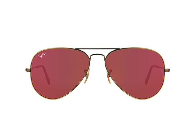Ray-Ban Aviator large RB 3025 167/K2 vista en perspectiva