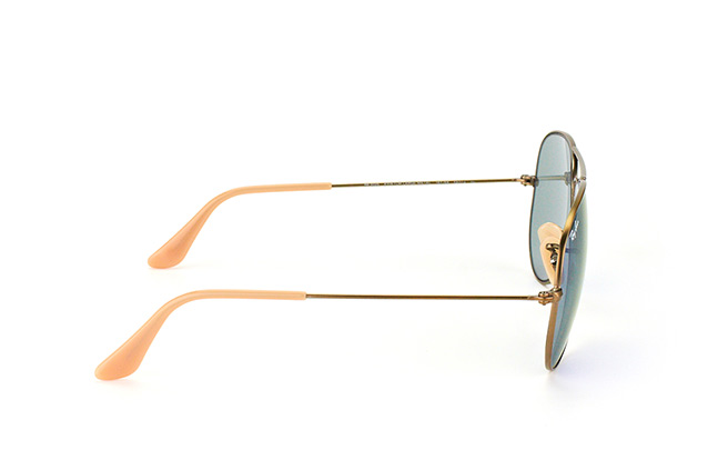 Ray-Ban Aviator large RB 3025 167/68 vue en perpective