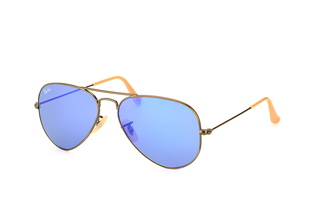 Ray-Ban Aviator RB 3025 167/68 small perspective view