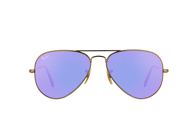 Ray-Ban Aviator RB 3025 167/1M small vista en perspectiva
