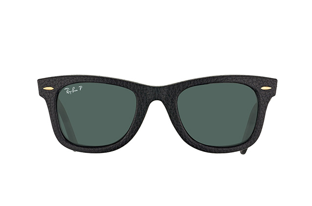 Ray-Ban Wayfarer Genuine Leather RB 2140QM 1152/N5 Perspektivenansicht