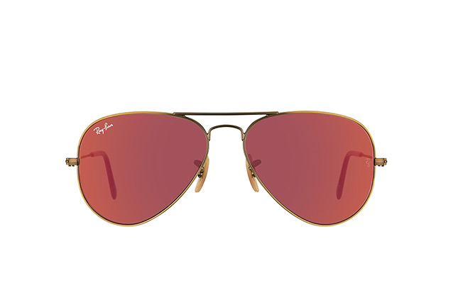 Ray-Ban Aviator RB 3025 167/2K small vista en perspectiva