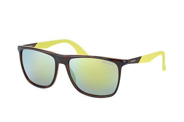 Carrera Eyewear Herren Sonnenbrille » CARRERA 5018/S«, braun, MDH/QU - braun/gelb