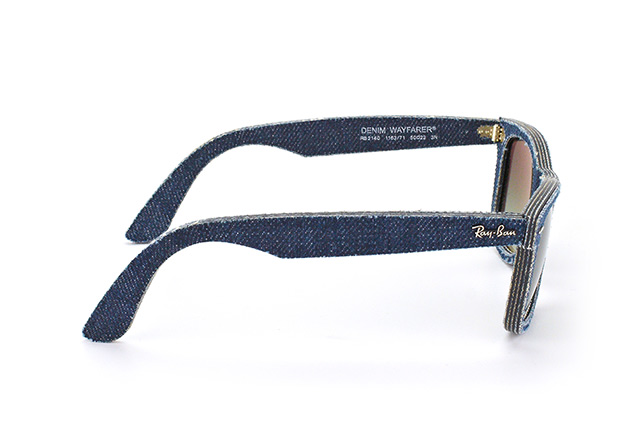 Ray-Ban Wayfarer Denim RB 2140 1163/71 Perspektivenansicht