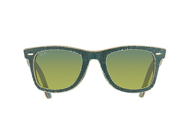 Ray-Ban Wayfarer Denim RB 2140 1166/3M vista en perspectiva